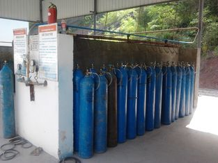 Chiny High Purity Industrial Oxygen Nitrogen Gas Plant 240 Cylinders , Max Pressure 20Mpa dostawca